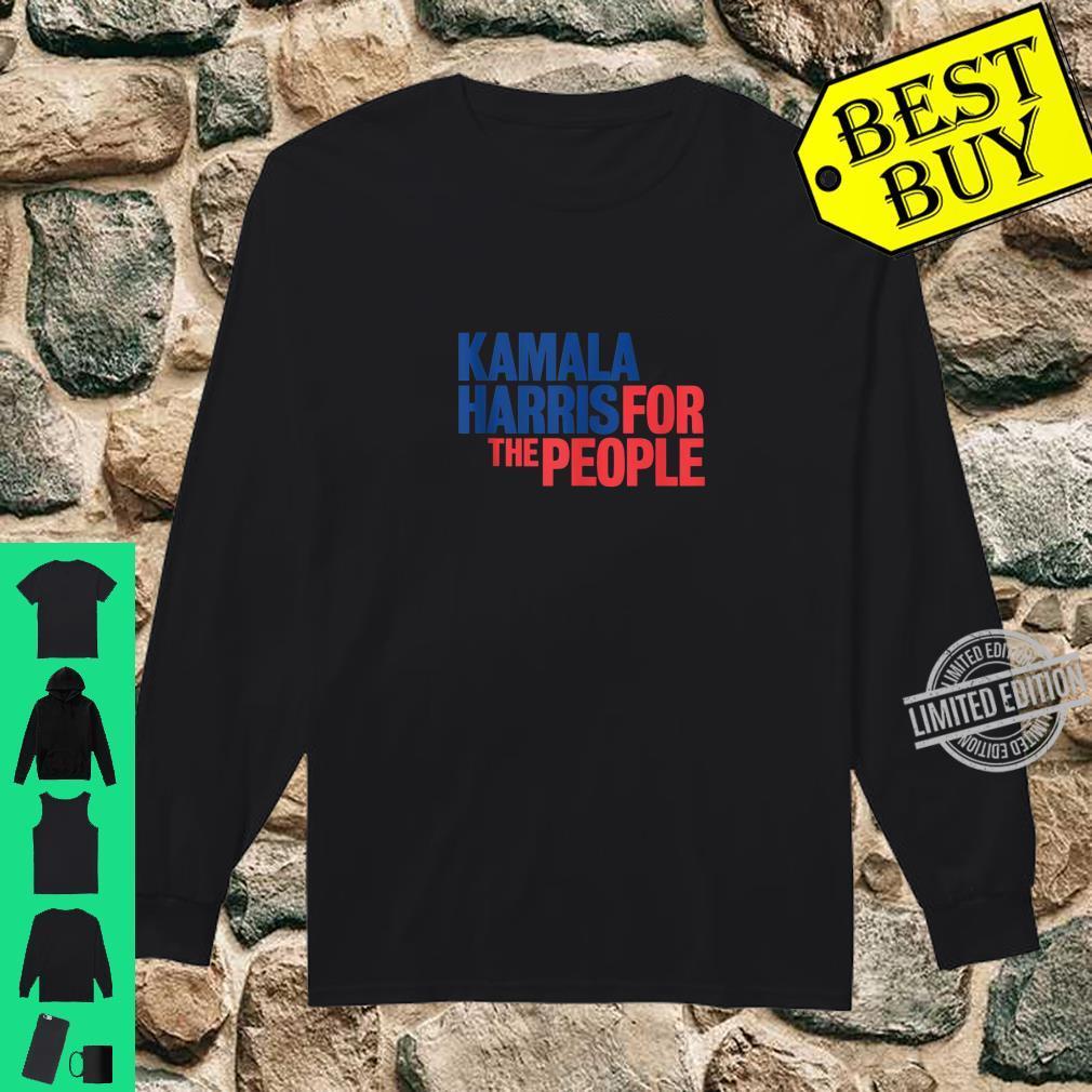2020 President Kamala Harris For the People Shirt long sleeved