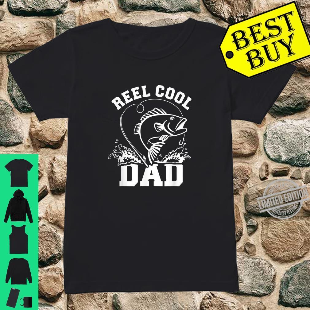 Angeln Papa Vater reel cool dad Shirt ladies tee