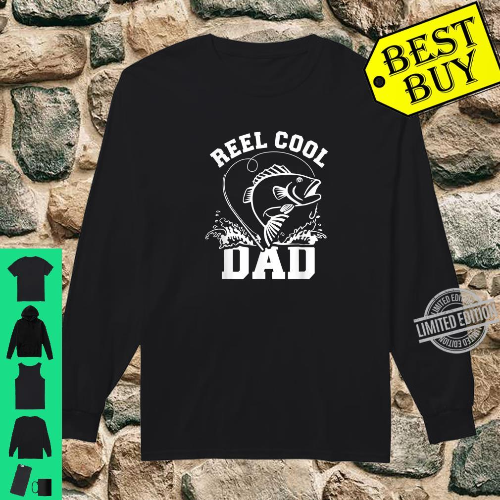 Angeln Papa Vater reel cool dad Shirt long sleeved