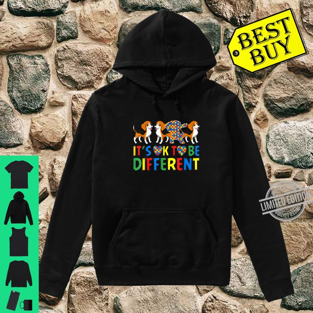 Autism Awareness Beagle Dog Dad and Dog Mom Shirt hoodie
