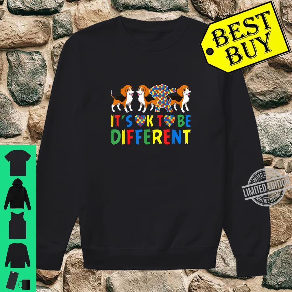 Autism Awareness Beagle Dog Dad and Dog Mom Shirt sweater