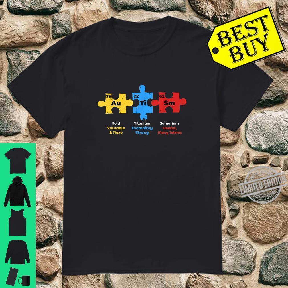 Autism Awareness Puzzle Pieces Support Shirt