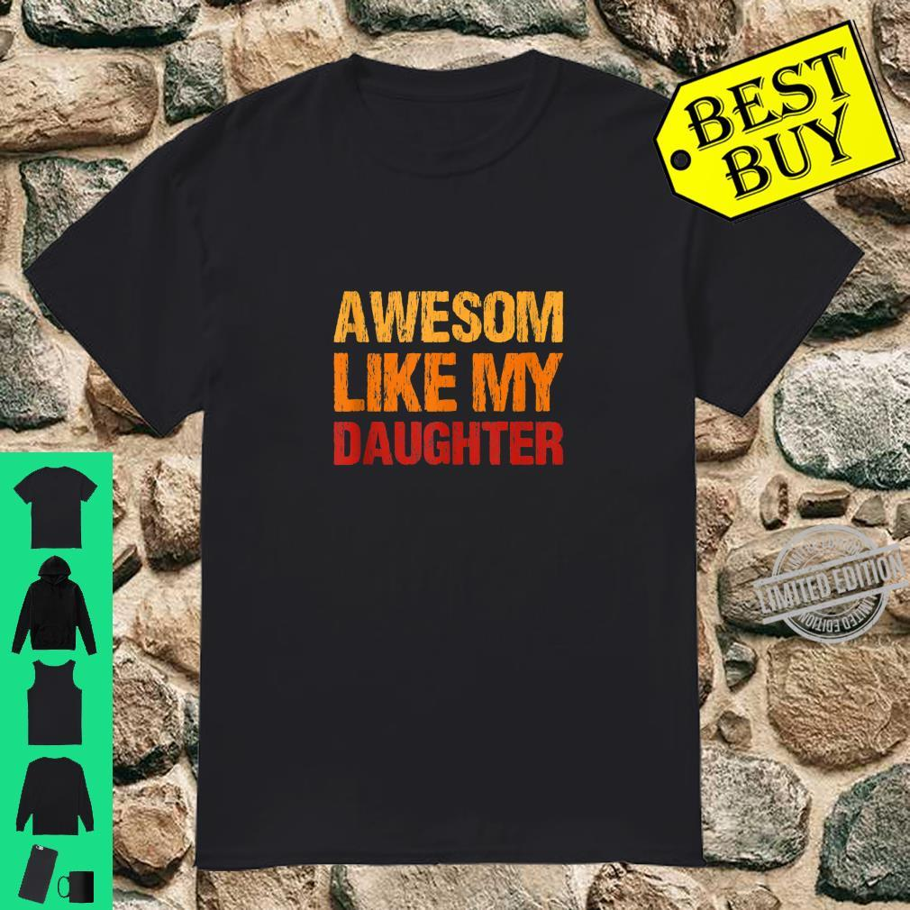 Awesom Like My Daughter & Son, Mother Day Mom Shirt