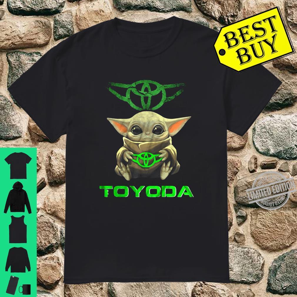Baby Yoda Hug Toyoda Car shirt