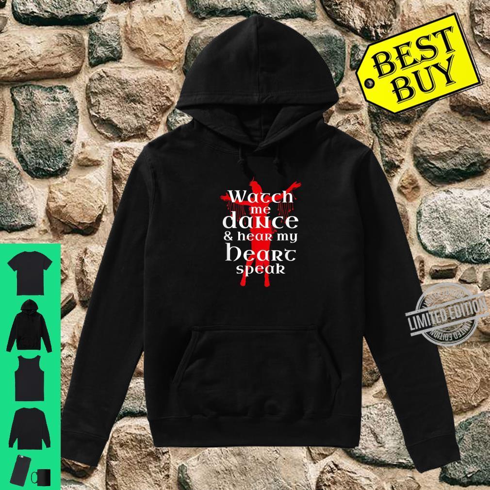 BauchtanzBauchtänzerin Liebeszitat Shirt hoodie