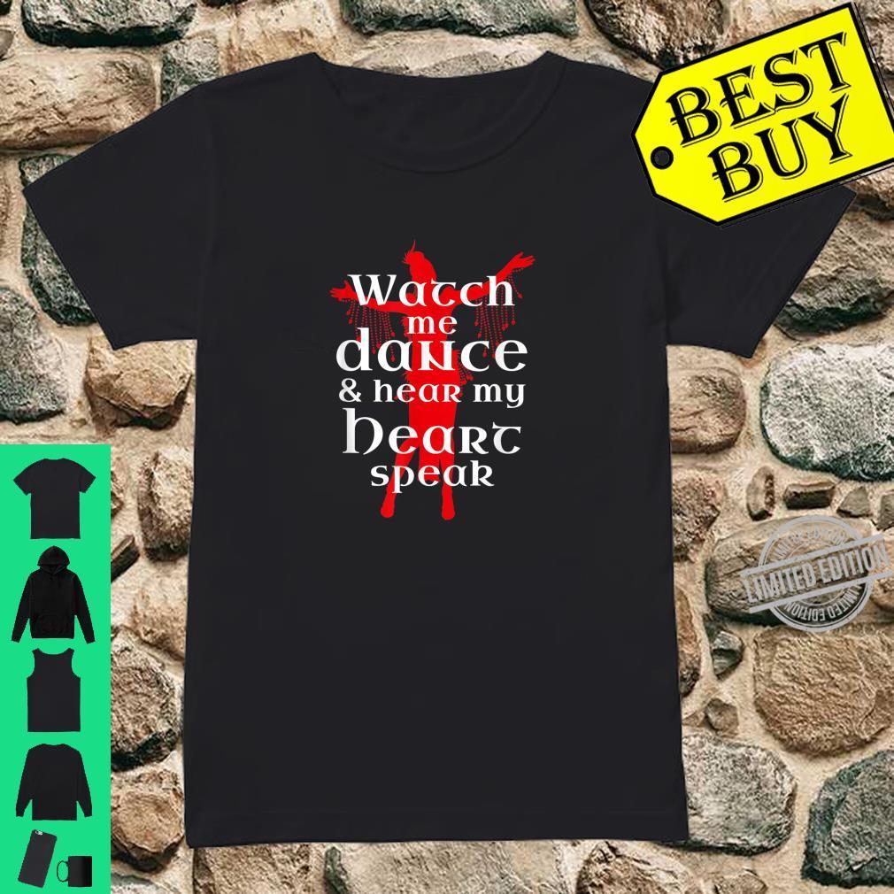 BauchtanzBauchtänzerin Liebeszitat Shirt ladies tee