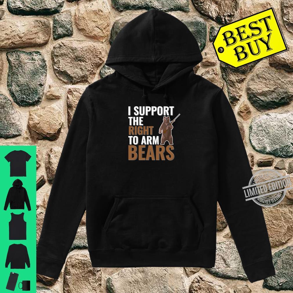 Bear Arms Pun Second Amendment Joke Shirt hoodie