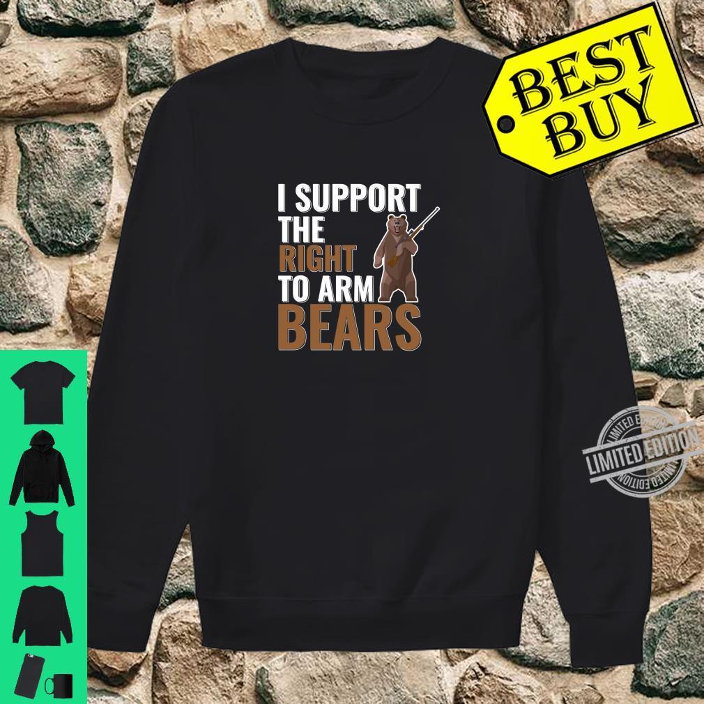 Bear Arms Pun Second Amendment Joke Shirt sweater