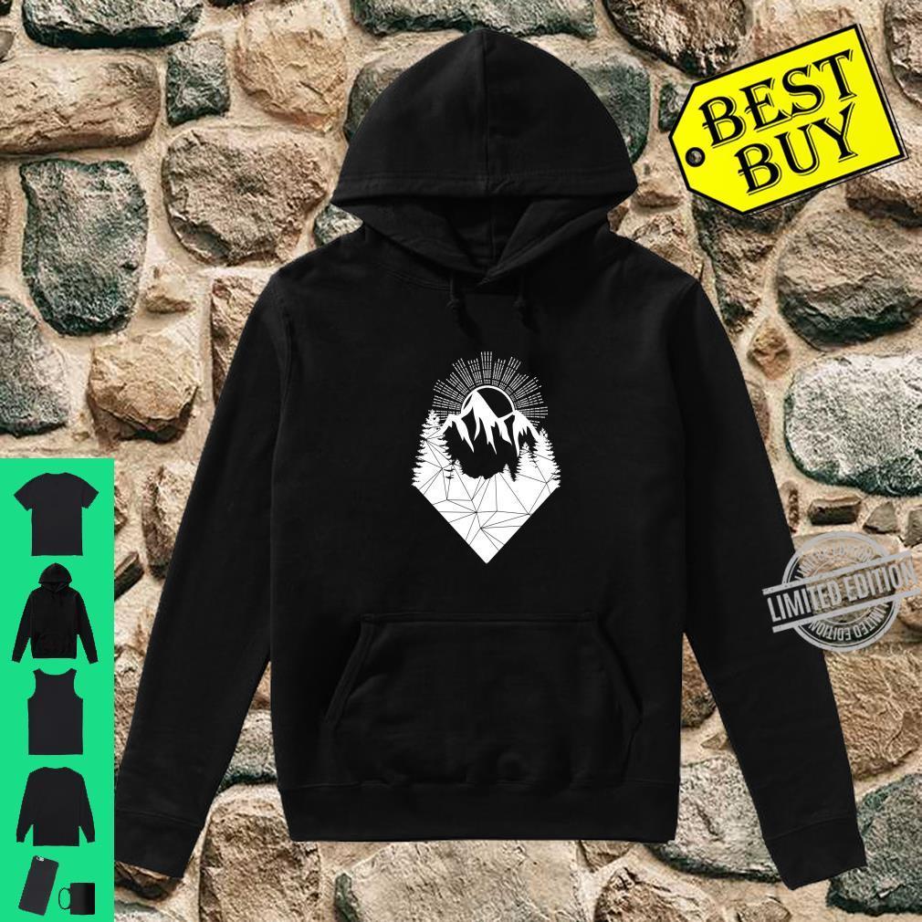Bergsteiger Wintersport Snowboarding Design Berge Allgäu Langarmshirt Shirt hoodie