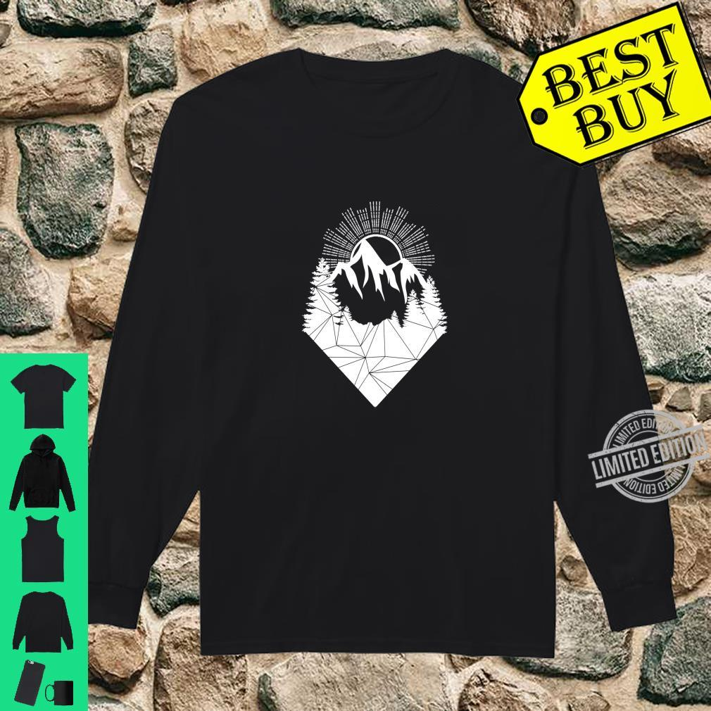Bergsteiger Wintersport Snowboarding Design Berge Allgäu Langarmshirt Shirt long sleeved