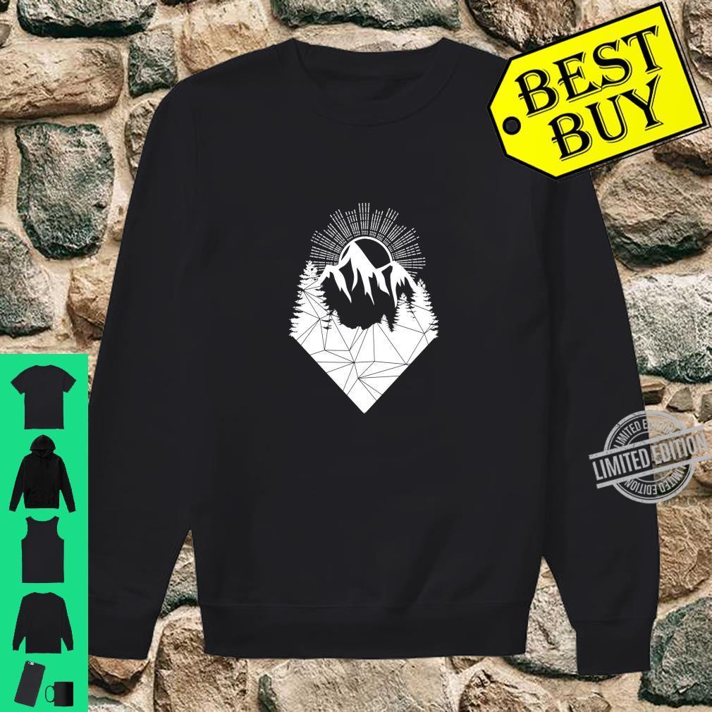 Bergsteiger Wintersport Snowboarding Design Berge Allgäu Langarmshirt Shirt sweater