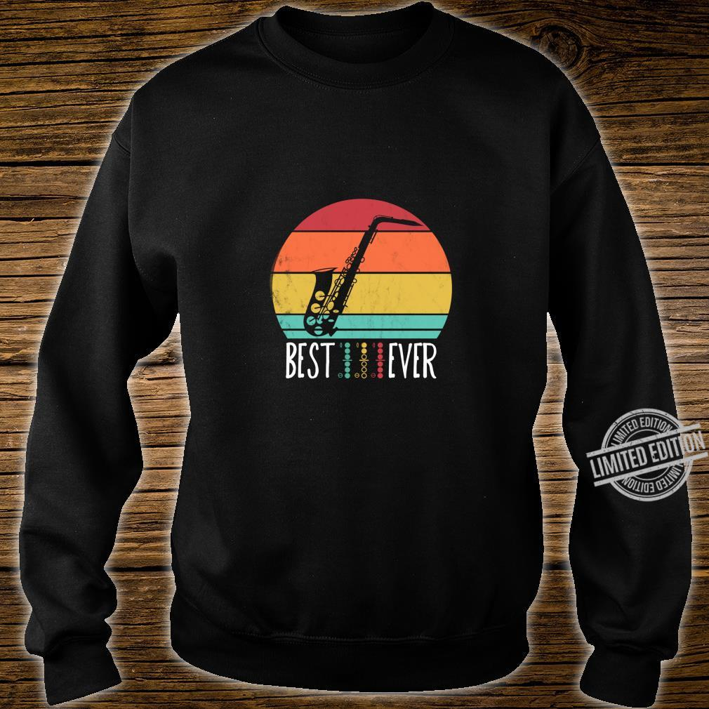 Best Saxophone DAD Ever Music chords Father musician Shirt sweater