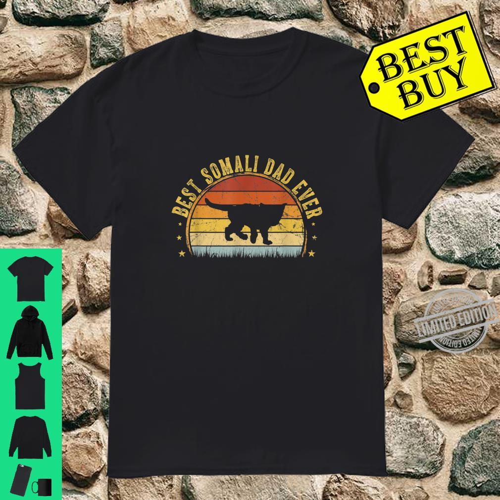 Best Somali Dad Ever Outfit Father's Day Shirt