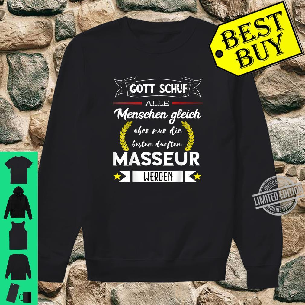 Bester Masseur Massage Therapeut Pyhsios Orthopäde Spruch Shirt sweater