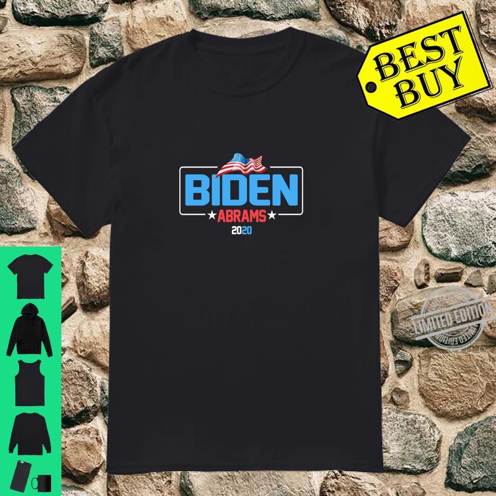 Biden Abrams 2020 Democratic Presidential Candidate Shirt