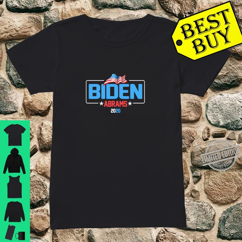 Biden Abrams 2020 Democratic Presidential Candidate Shirt ladies tee