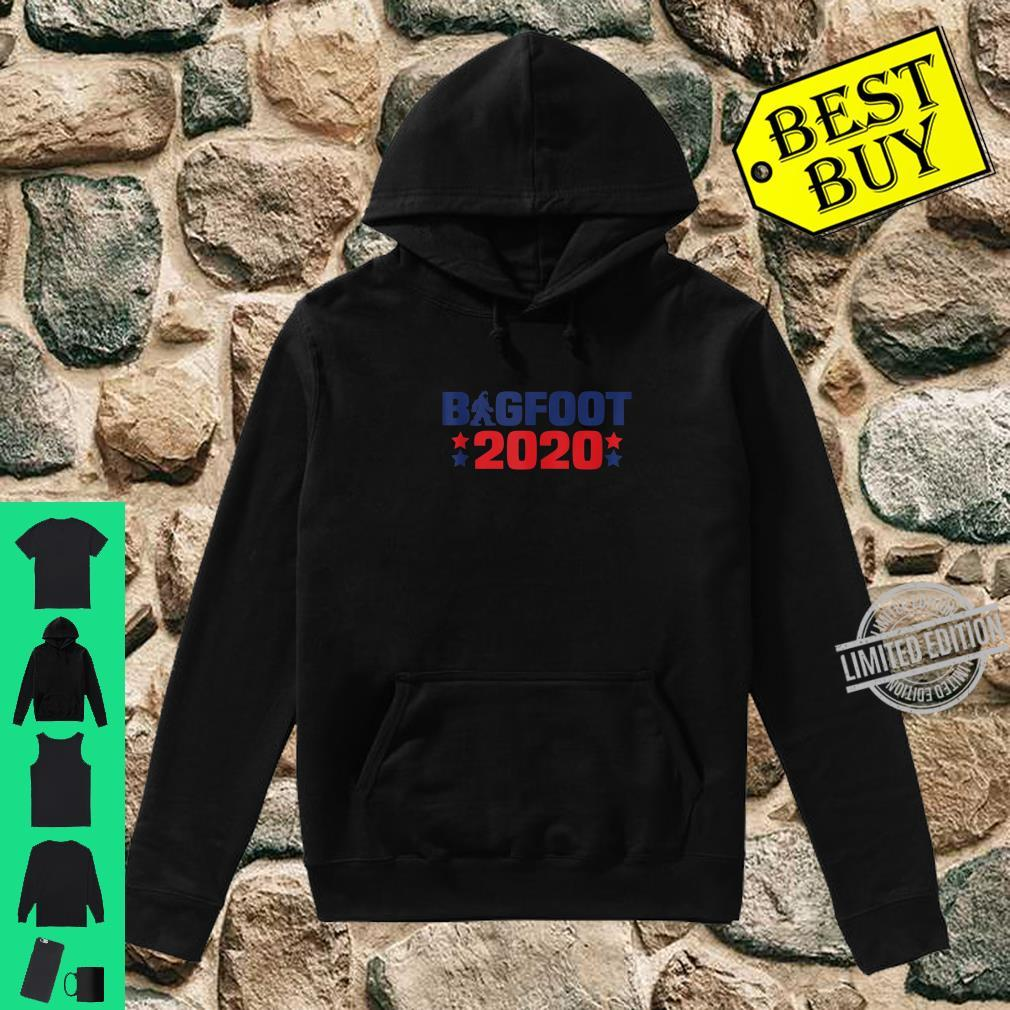 Bigfoot 2020 President Election Sasquatch Shirt hoodie
