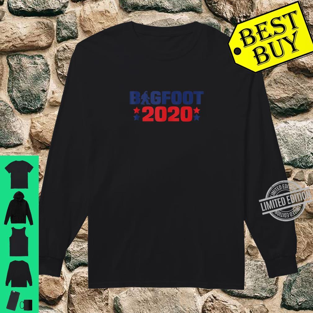 Bigfoot 2020 President Election Sasquatch Shirt long sleeved