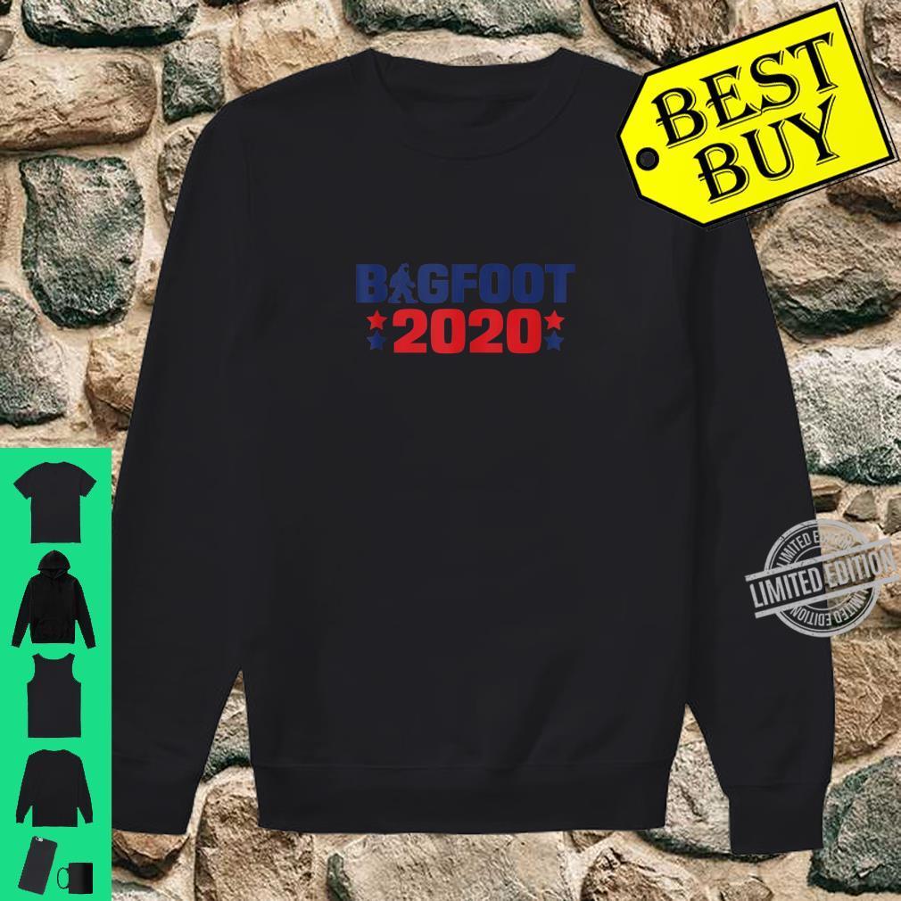 Bigfoot 2020 President Election Sasquatch Shirt sweater