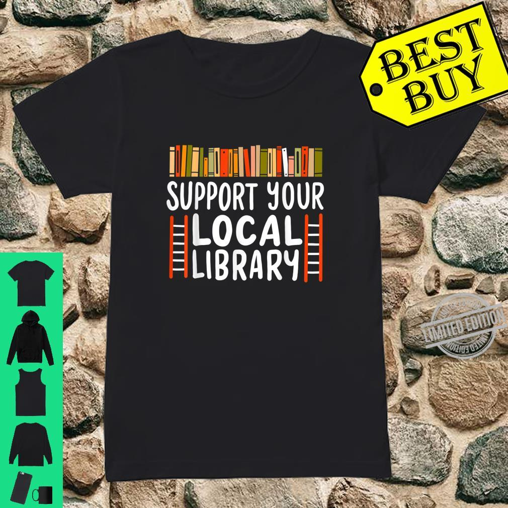 Book Reader Teacher Librarian Reading Shirt ladies tee