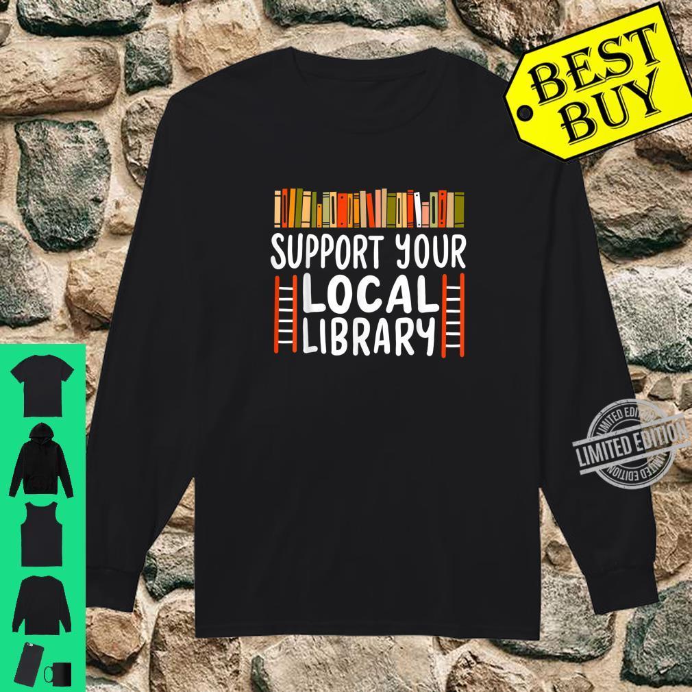 Book Reader Teacher Librarian Reading Shirt long sleeved