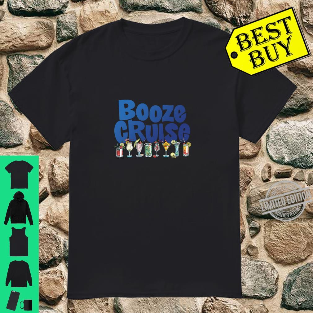 Booze Cruise Cocktails & Drinks Shirt