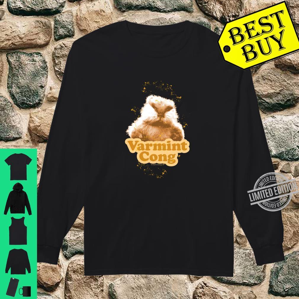Caddyshack Varmint Cong Shirt long sleeved