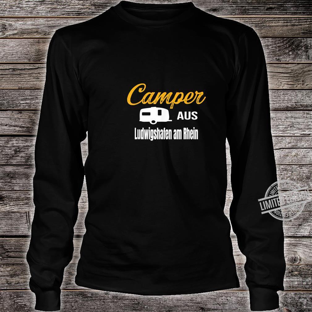 Camper aus Ludwigshafen am Rhein Wohnwagen Geschenk Familie Shirt long sleeved