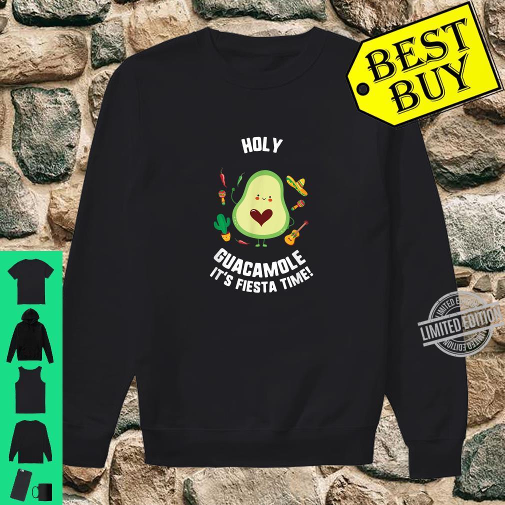 Cinco De Mayo Holy Guacamole It's Fiesta Time Avocado Shirt sweater