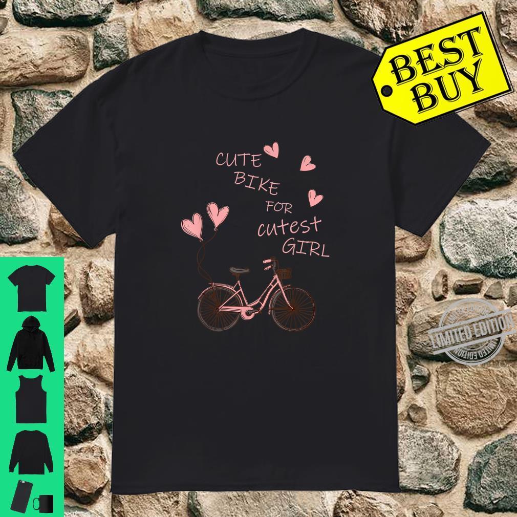 Cute bike for cute girl Shirt