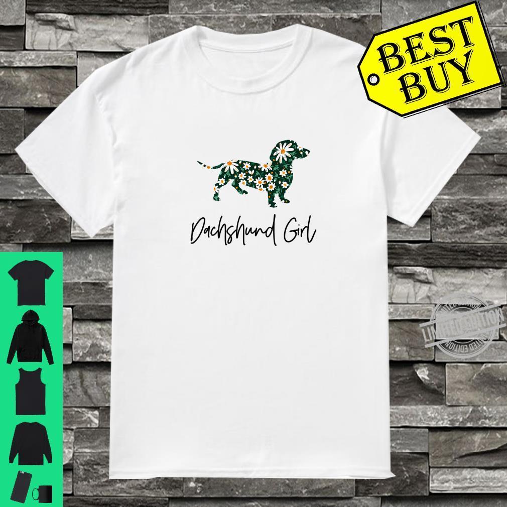 Cute dachshund girl idea for mom or daughter Shirt