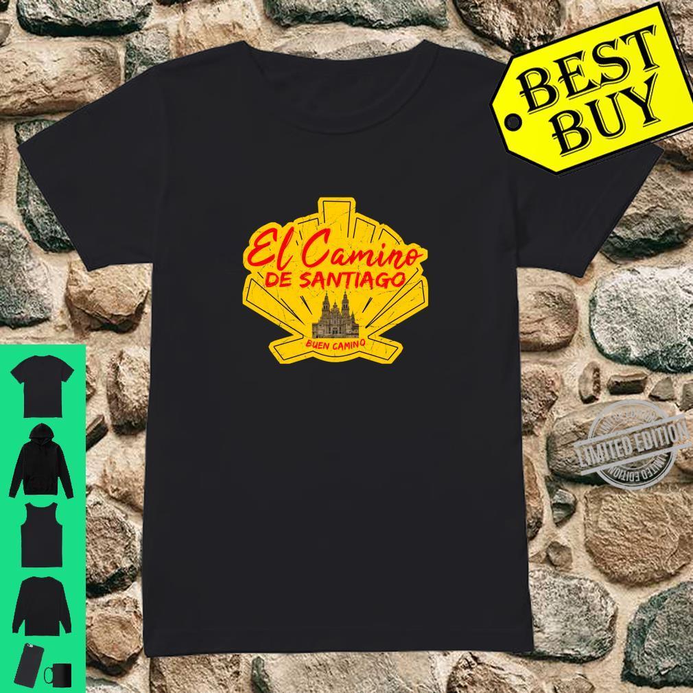 El Camino de Santiago Spain Buen Camino Saint James Way Shirt ladies tee