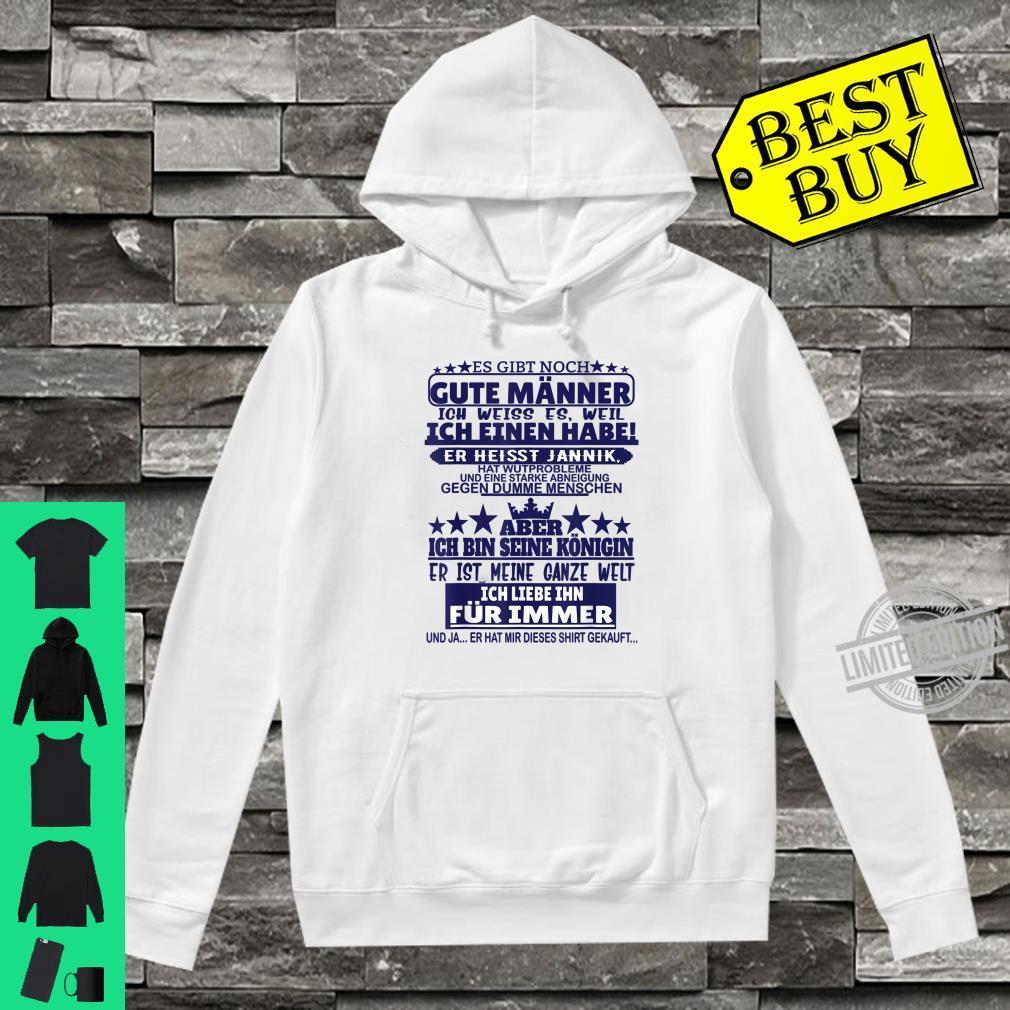 Es gibt noch gute Männer Jannik Vorname Namen Sprüche Shirt hoodie