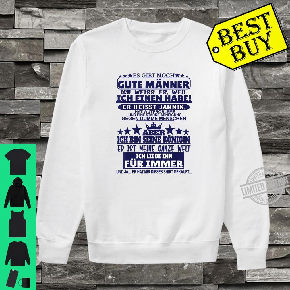 Es gibt noch gute Männer Jannik Vorname Namen Sprüche Shirt sweater