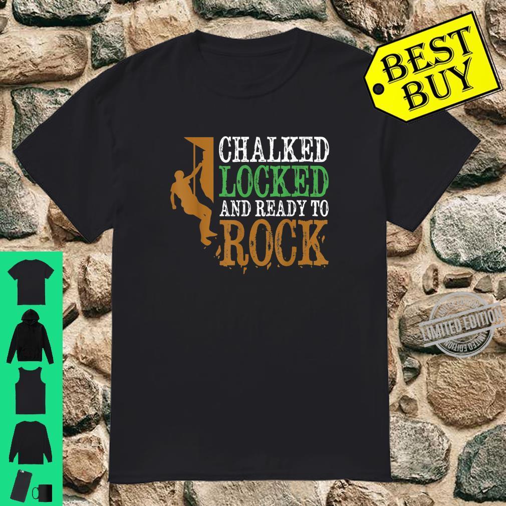 Funny Rock Climbing Bouldering Mountain Climbing Shirt