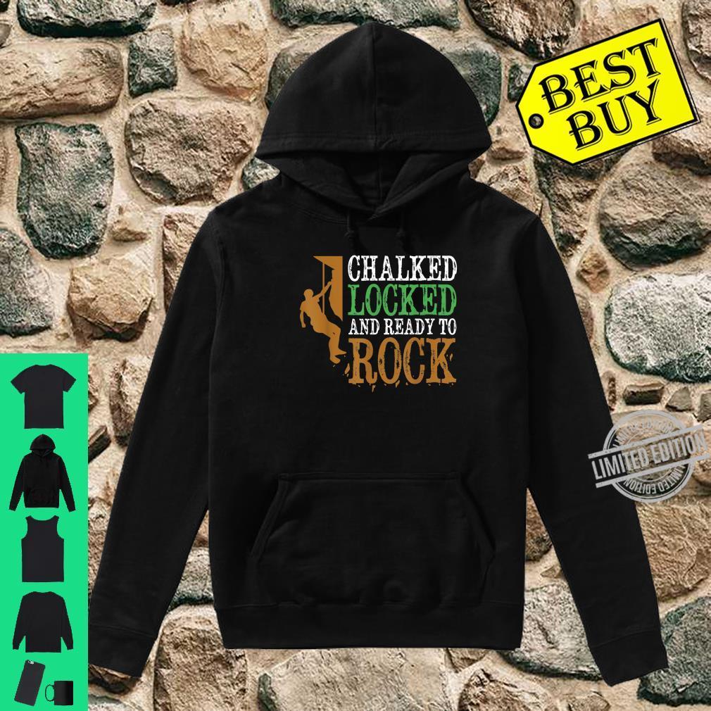 Funny Rock Climbing Bouldering Mountain Climbing Shirt hoodie