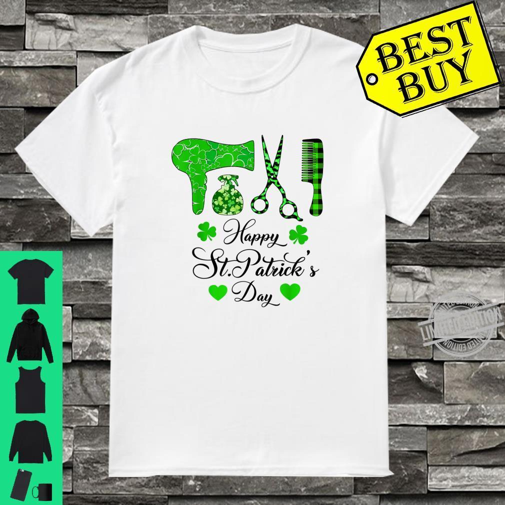 Hairdresser Irish Happy St. patrick's day Shirt