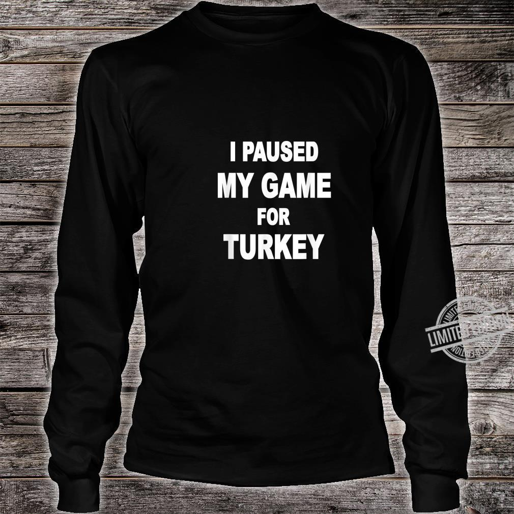 Happy turkey day Shirt long sleeved