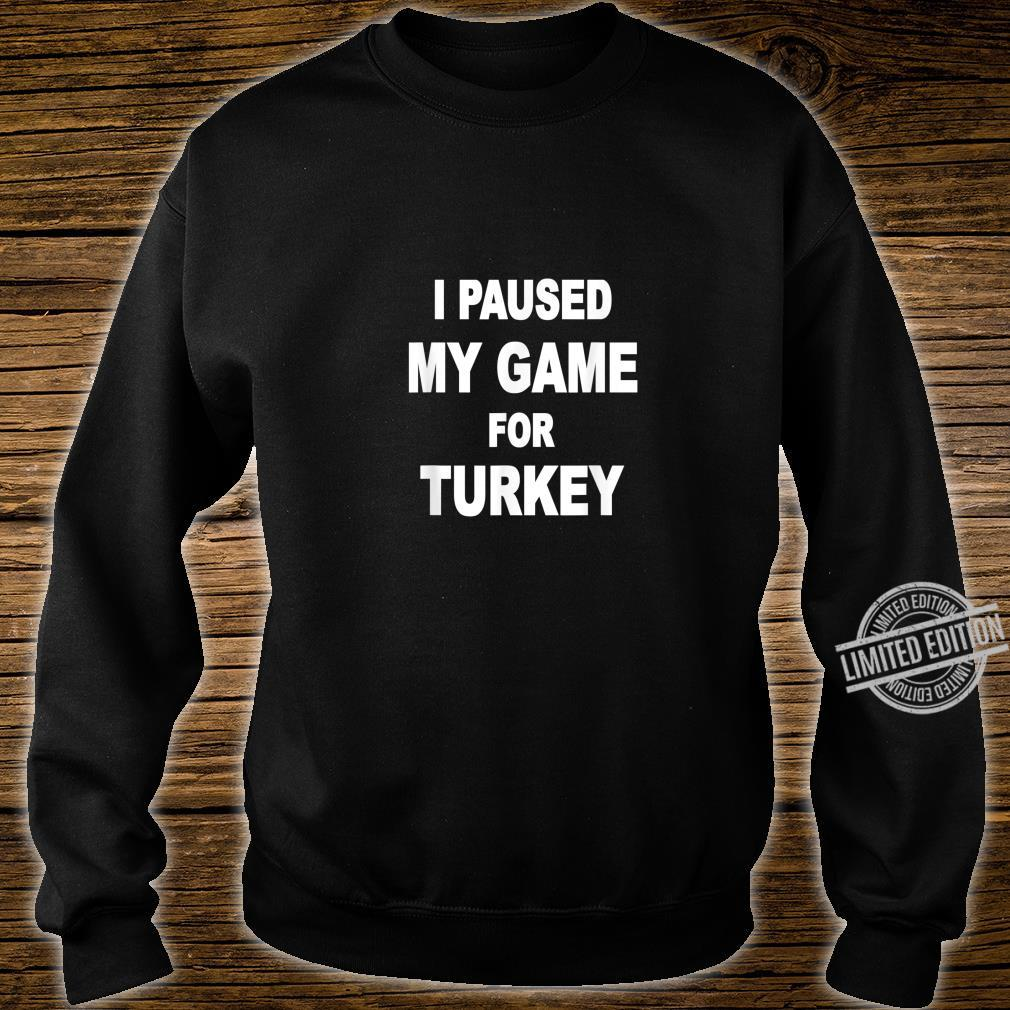 Happy turkey day Shirt sweater