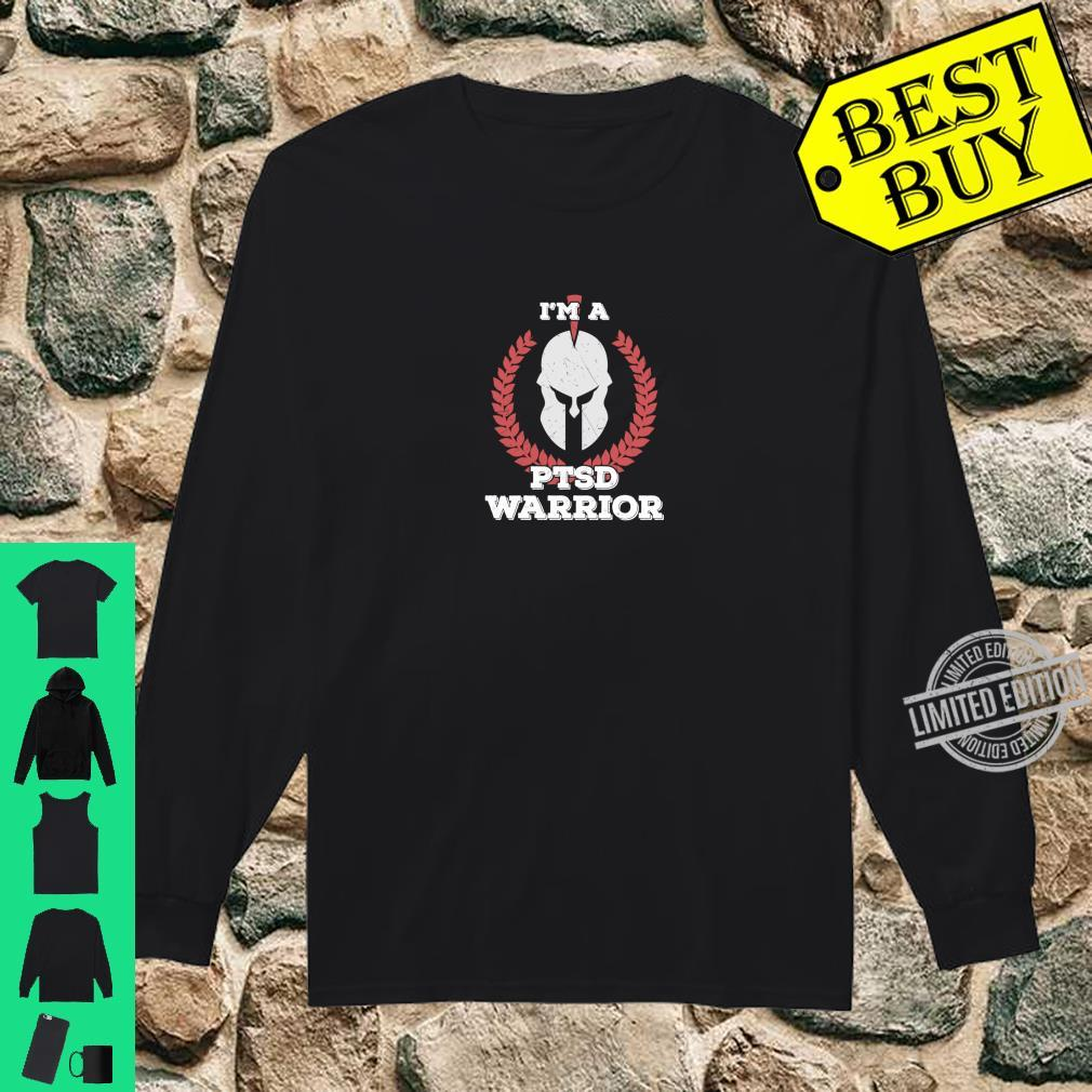 I'm a PTSD Warrior Posttraumatic Stress Disorder Awareness Shirt long sleeved