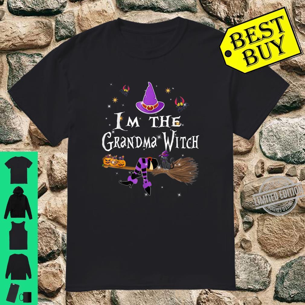 Im the Grandma Witch Shirt Halloween Matching Group Costume Shirt