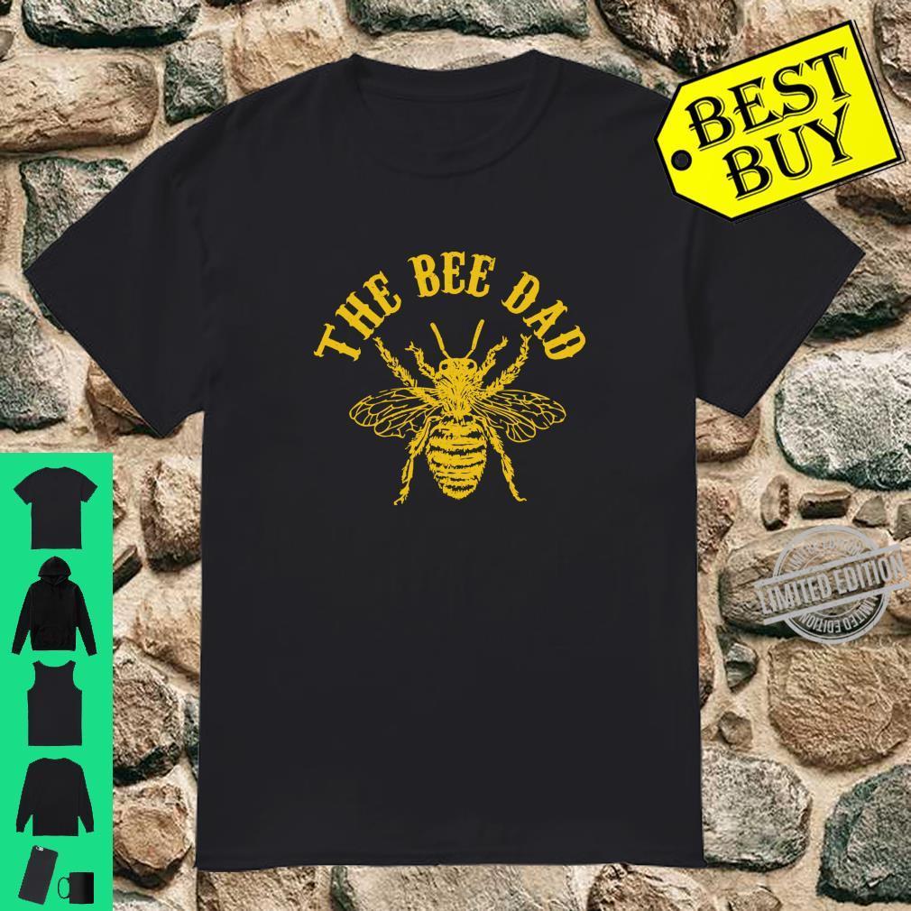 Imker Bienen Vater Bienenvater Lustig Geschenk Shirt