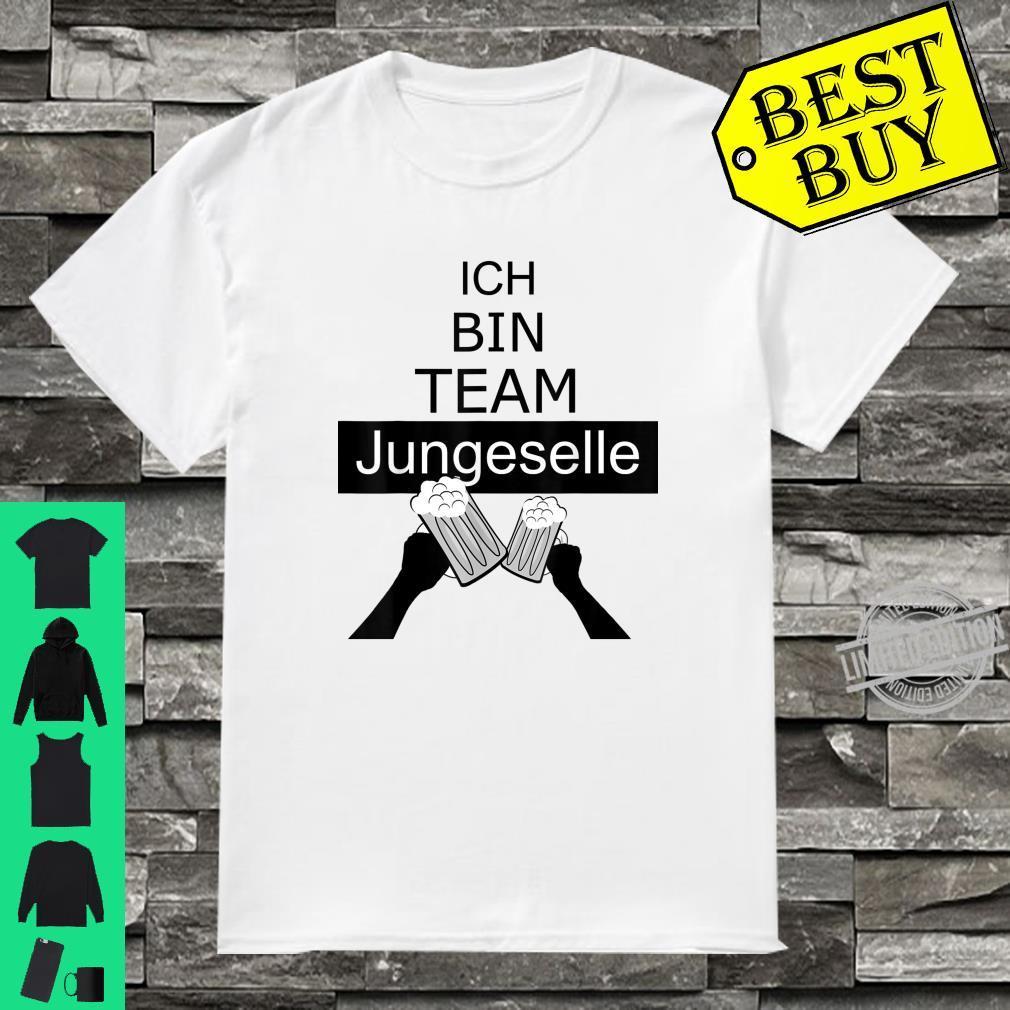 Junggesellenabschied Team Bräutigam, JGA Shirt