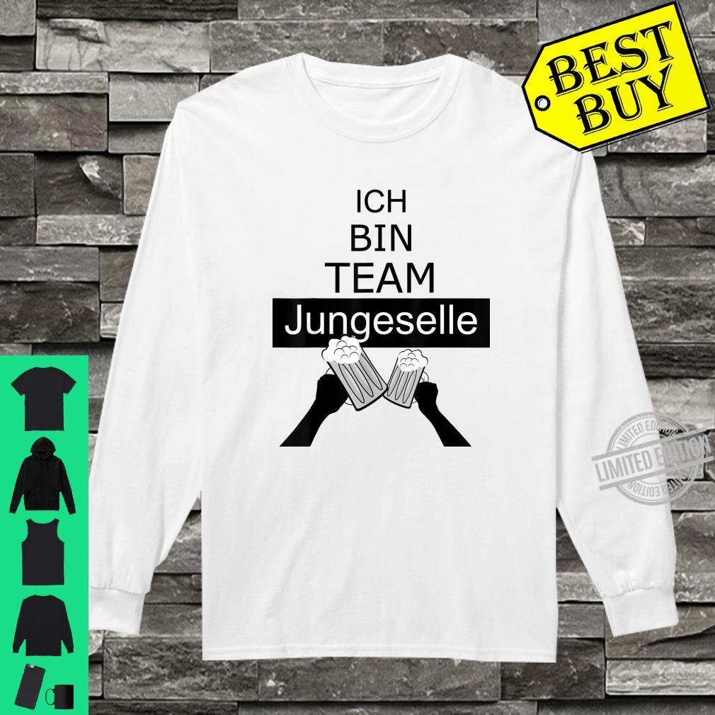 Junggesellenabschied Team Bräutigam, JGA Shirt long sleeved