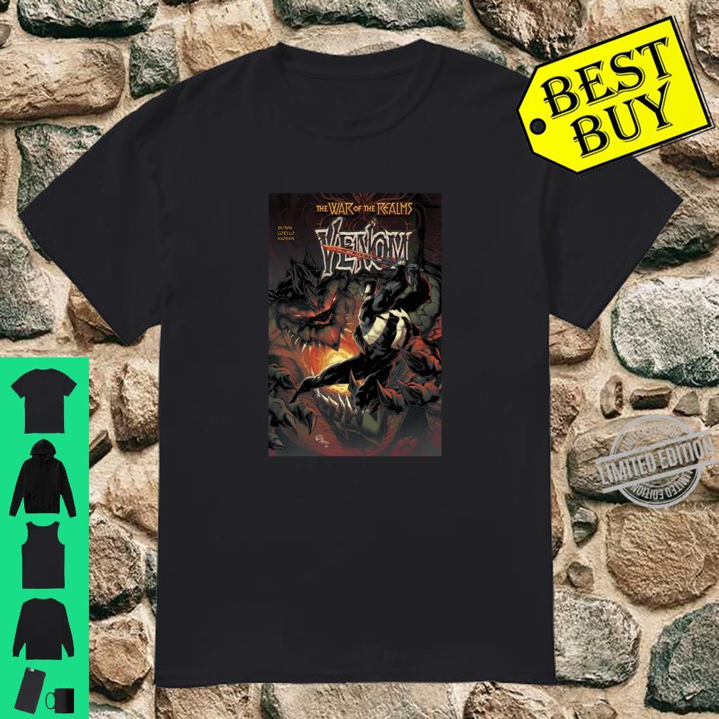 Marvel War Of The Realms Venom Comic Cover Shirt