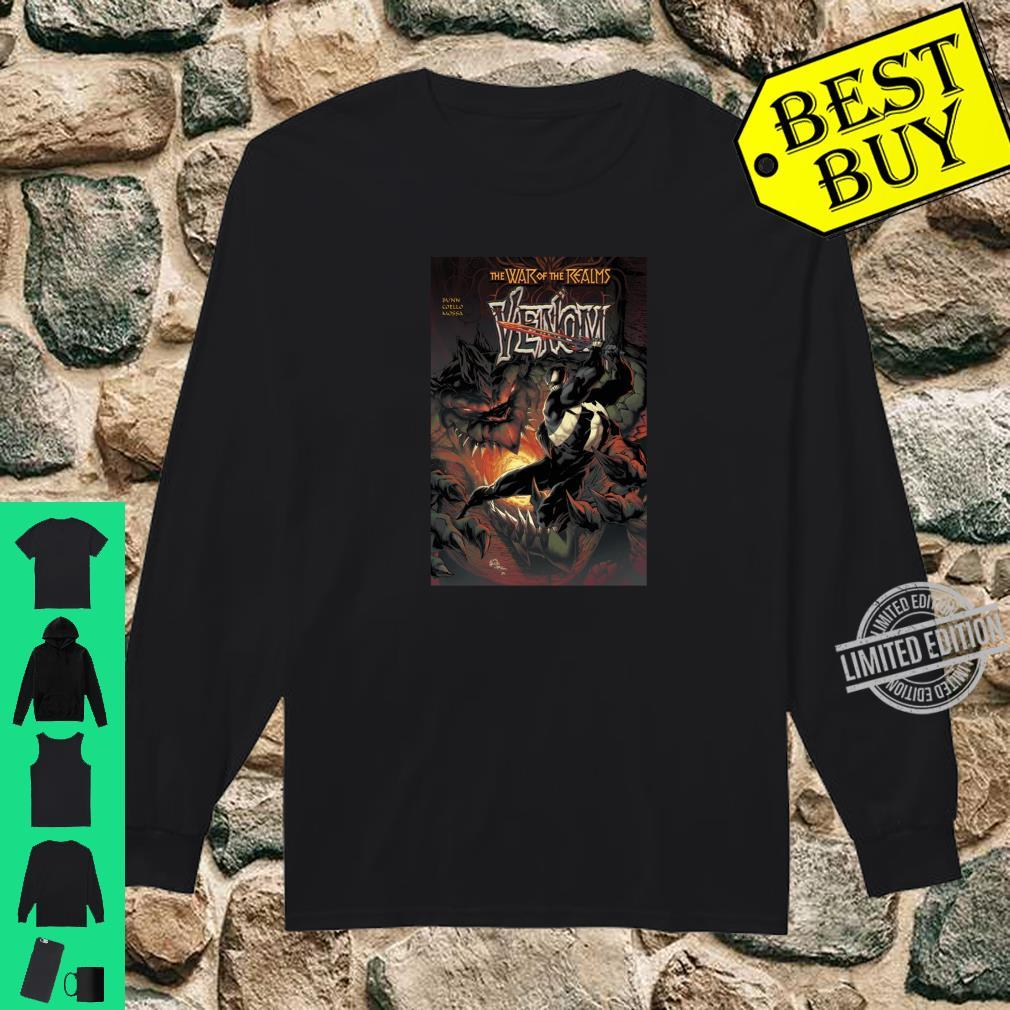 Marvel War Of The Realms Venom Comic Cover Shirt long sleeved