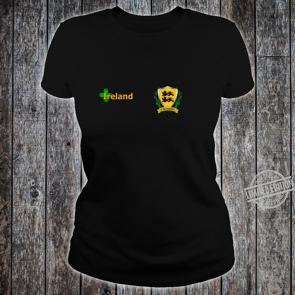 O'RourkeRourke Irish Shield Shirt ladies tee