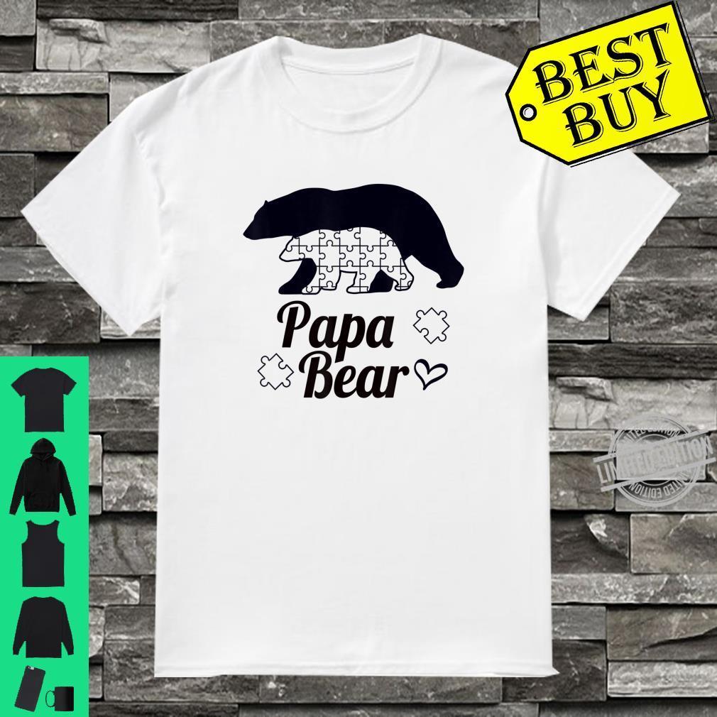 Papa Bear Autism Awareness Family And Shirt