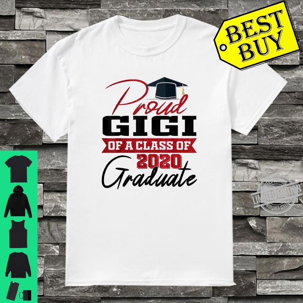 Proud Gigi of a Class of 2020 Graduate Senior 20 Grandma Shirt