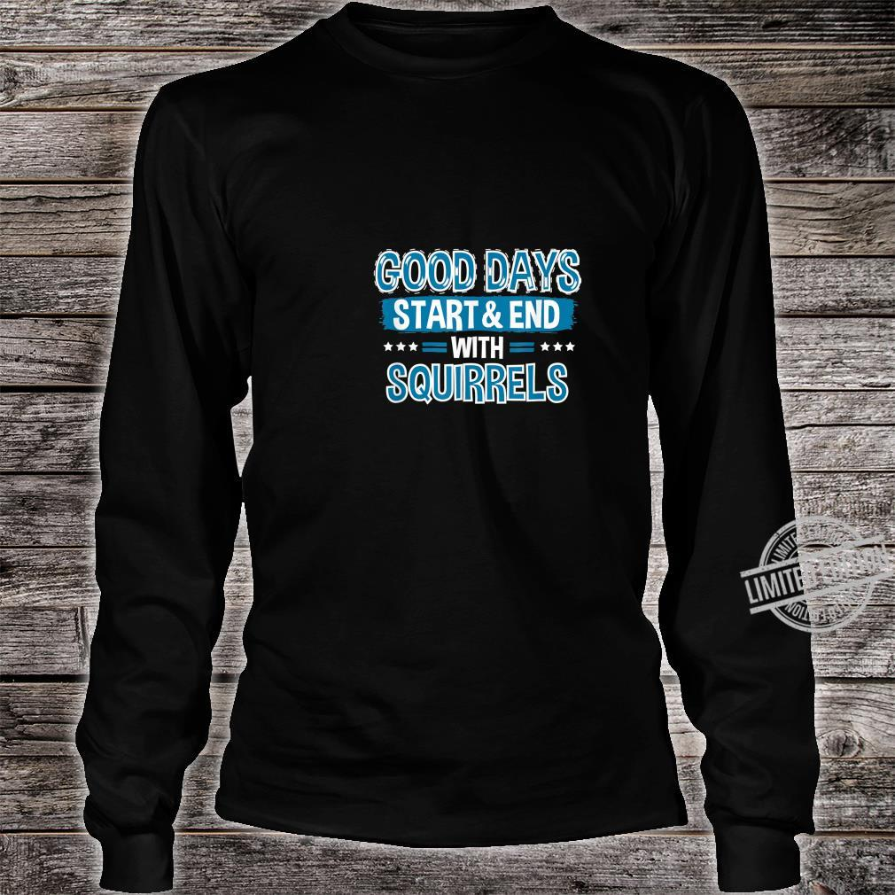 SQUIRRELS Clothes Animal Quote Squirrel Shirt long sleeved